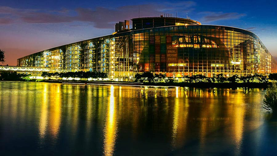 Straßburg Europaparlament, Europaviertel