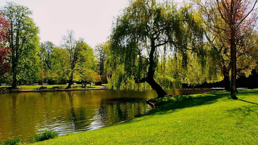 Straßburg: Park de l'Orangerie
