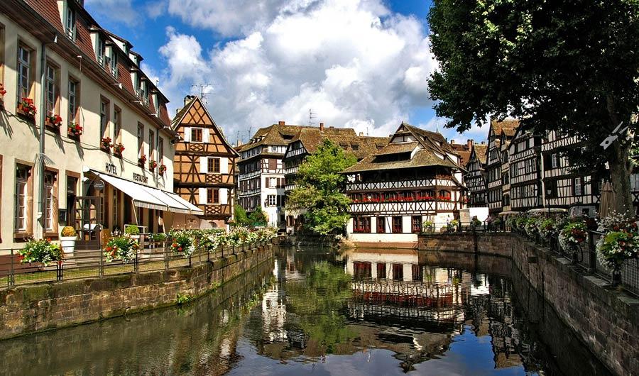 Straßburg Sehenswürdigkeiten: Altstadt Kanal