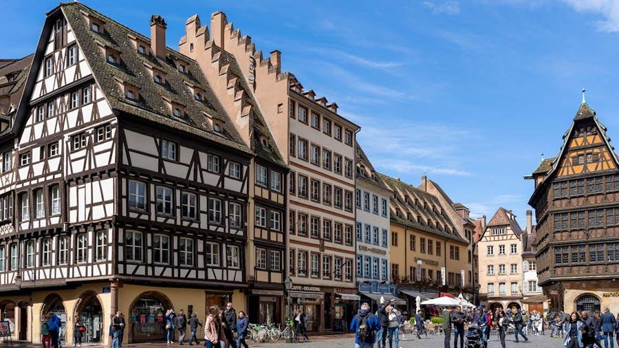 Straßburg Sehenswürdigkeiten: Fachwerkhaus, Altstadt