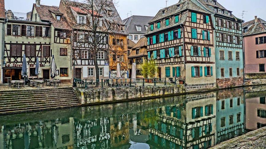 Straßburg Sehenswürdigkeiten: Petite France, Stadtviertel