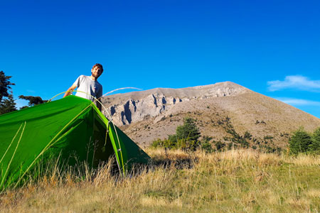 Ultraleichtes Zelt: Ratgeber, Testbericht