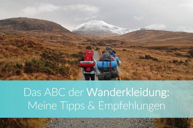 Wanderkleidung: Trekking Ausrüstung, Equipment