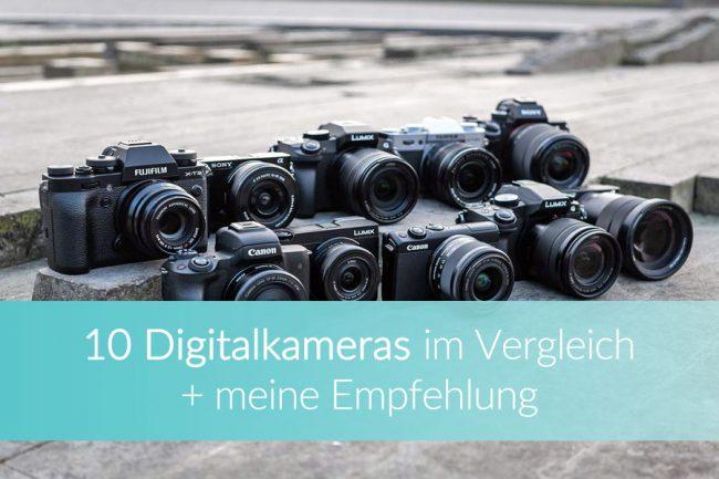 Digitalkamera, Systemkamera Vergleich