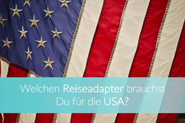 Reiseadapter USA, Vereinigte Staaten