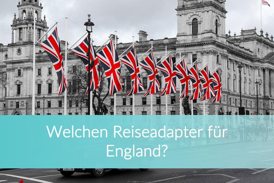 Reiseadapter England, Großbritannien