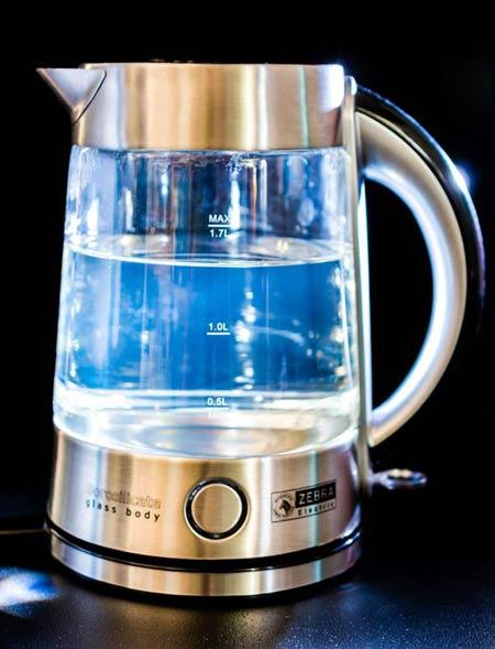 Reisewasserkocher: im Optimalfall nicht aus Glas