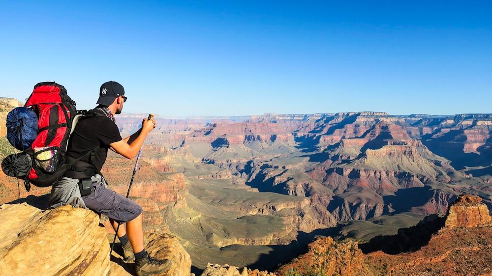 Backpacking Rucksack für Trekkingtouren auf Reisen