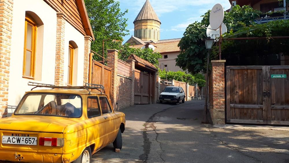 Straße im Zentrum von Mzcheta