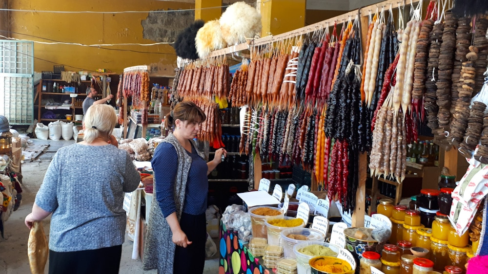 Markt in Sighnaghi