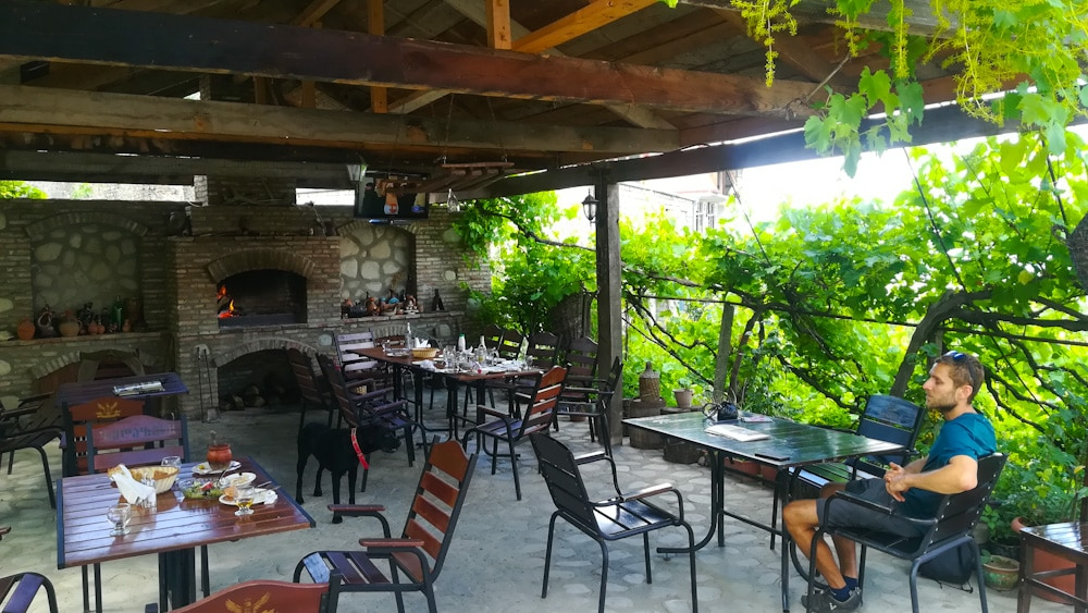 Restaurant in Sighnaghi