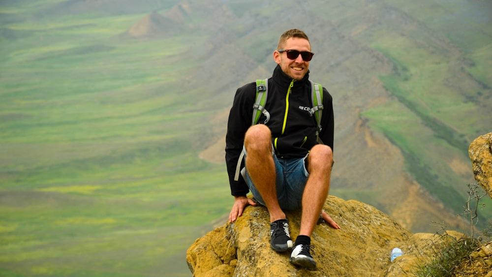 Auf dem Udbano Berg über dem Dawit Garedscha
