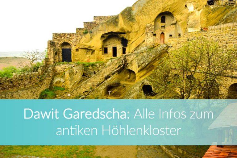 Dawit Garedscha: Antikes Höhlenkloster, Faszination Steppe & Aserbaidschan zum Greifen nah!