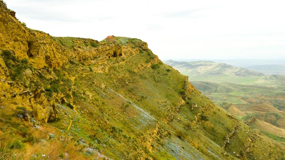 Udabno Höhenzug am Dawit Garedscha Kloster
