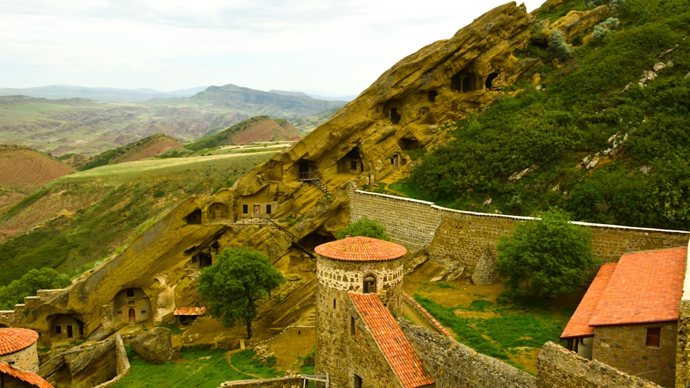 Bewohnter Teil des Dawit Garedscha Kloster
