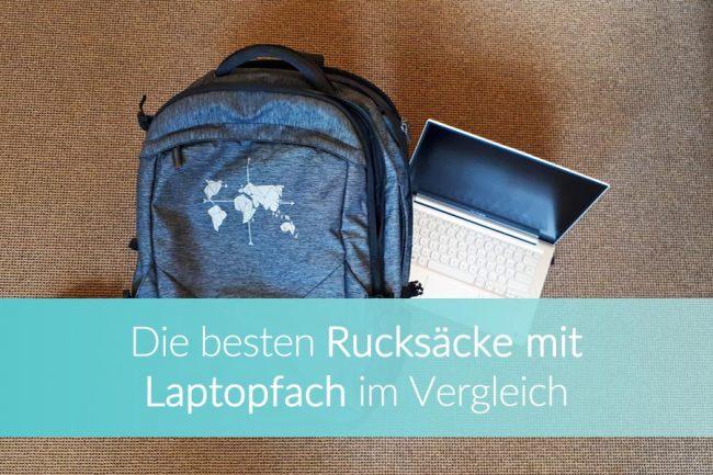rucksack mit laptopfach, vergleich