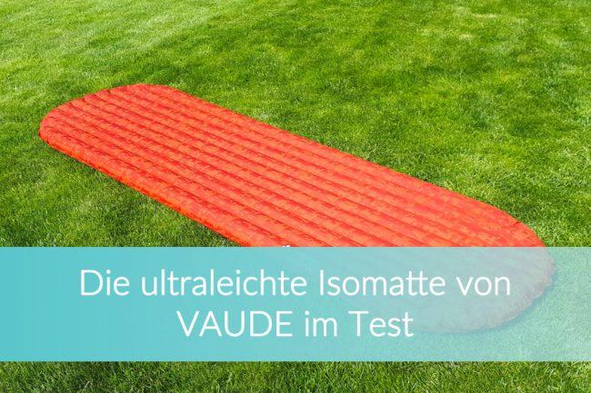Ultraleichte Isomatte, Vaude Performance 7L