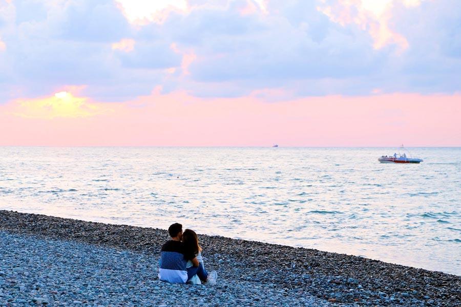 Romantische Hotels in Batumi für einen Abend am schwarzen Meer