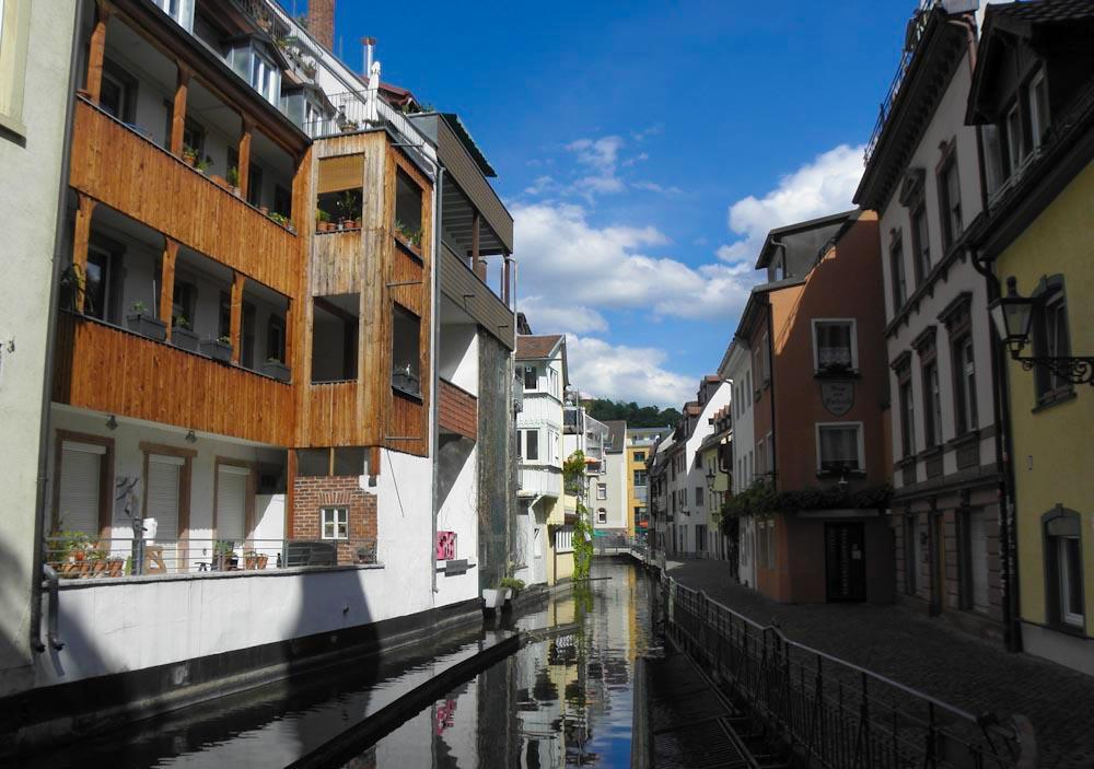 Freiburgs kleines Venedig, die Fischerau
