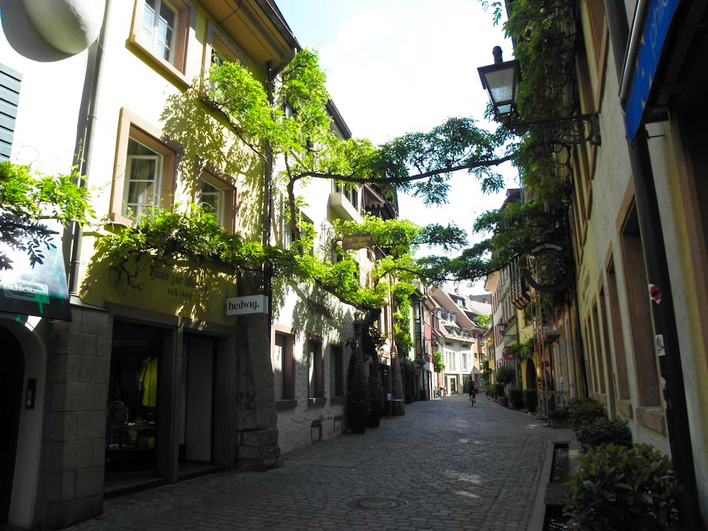 Freiburgs schönste Gasse, die Konviktstraße