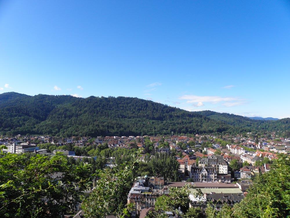 Freiburg liegt direkt am Schwarwald