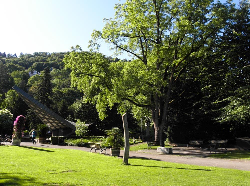 Der Freiburger Stadtgarten liegt im Westen
