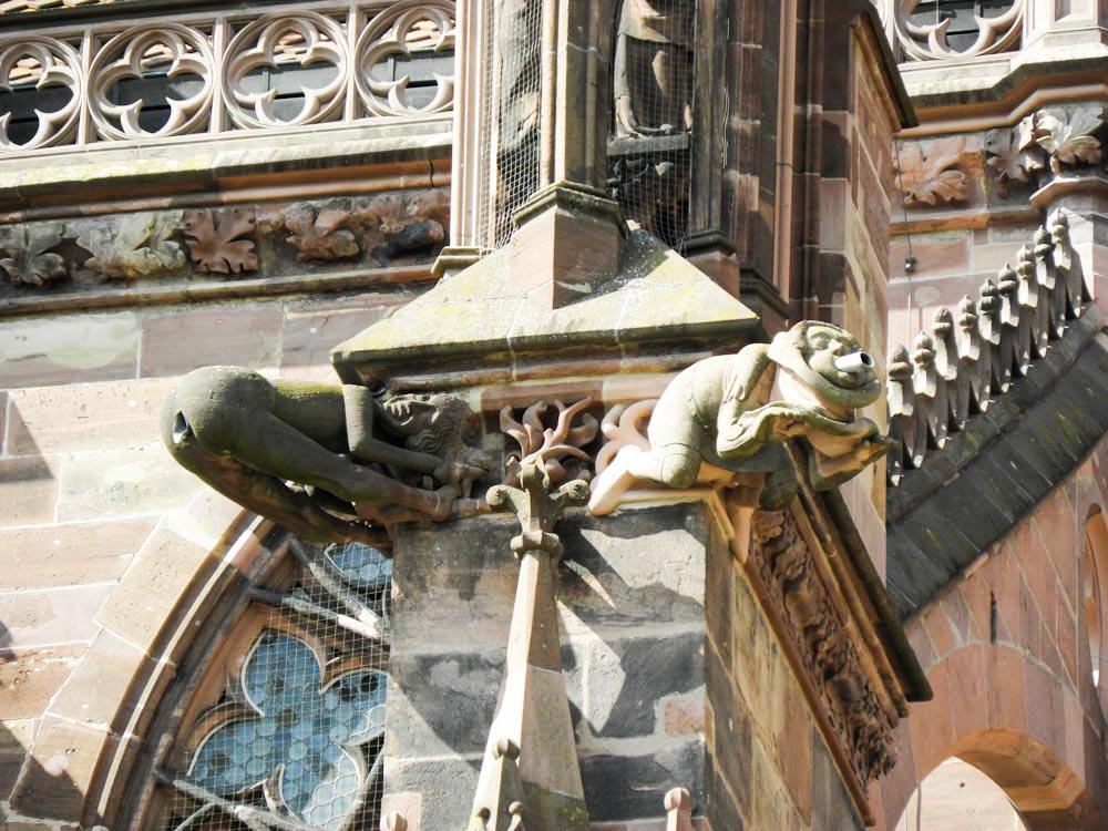 Wasserspeier des Freiburger Münsters