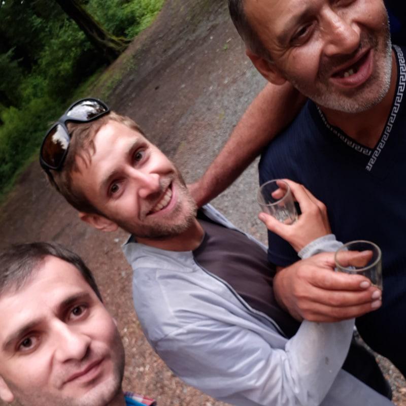 Gastfreundschaft in Kachetien