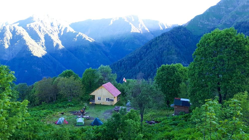 Unterkunft im Lagodekhi Nationalpark