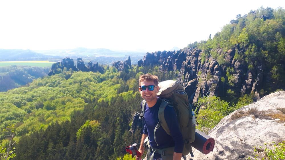 Rucksack 60 Liter für Trekking
