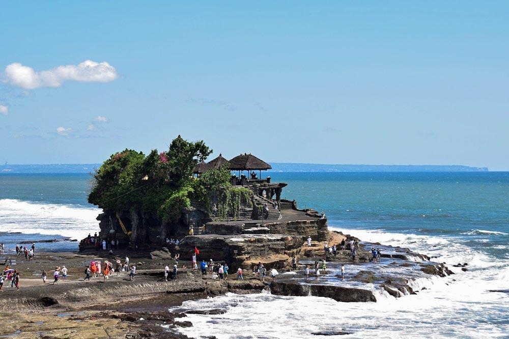 Tempel Tannah Lot nahe Canggu auf Bali