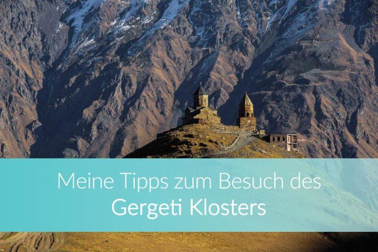 Gergeti Trinity Church: Die besten Tipps zum Besuch der Dreifaltigkeitskirche in Kazbegi
