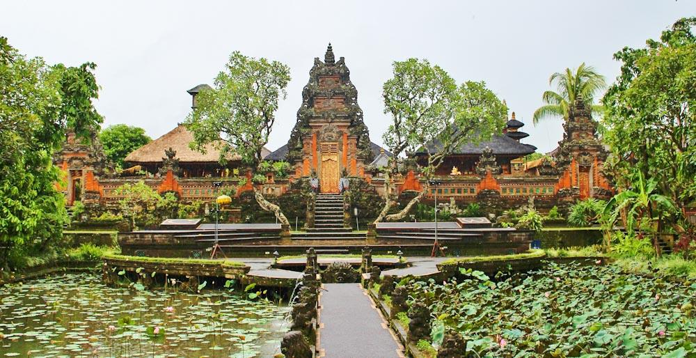 Saraswati Tempel in Ubud