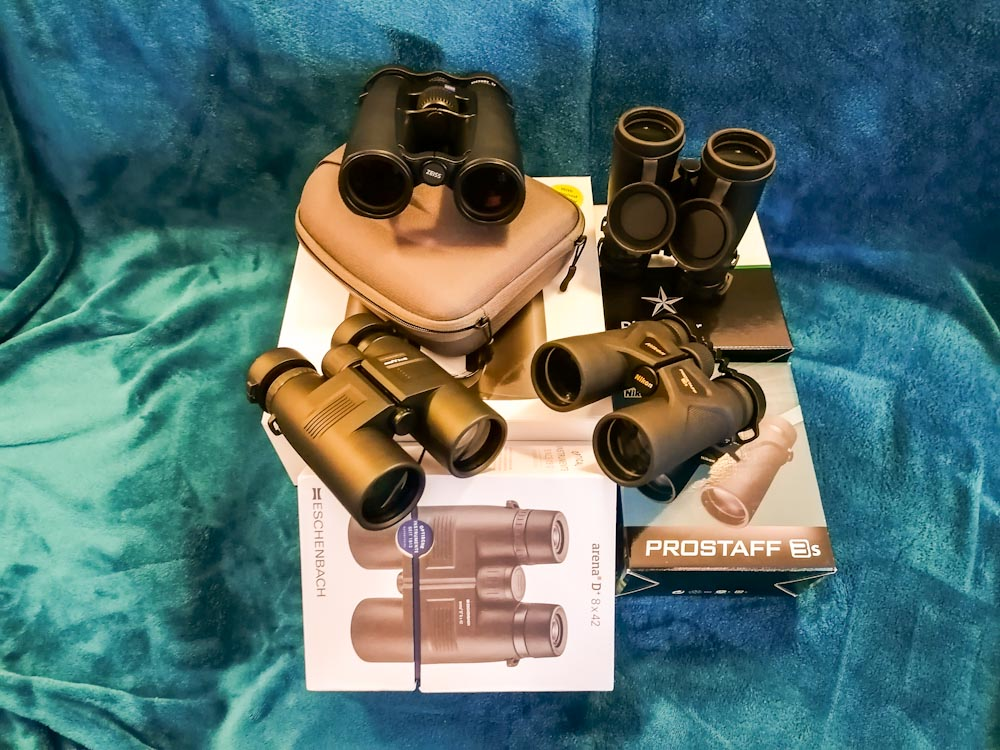 Im Fernglas Test: Nikon, Eschenbach, Omega, Zeiss