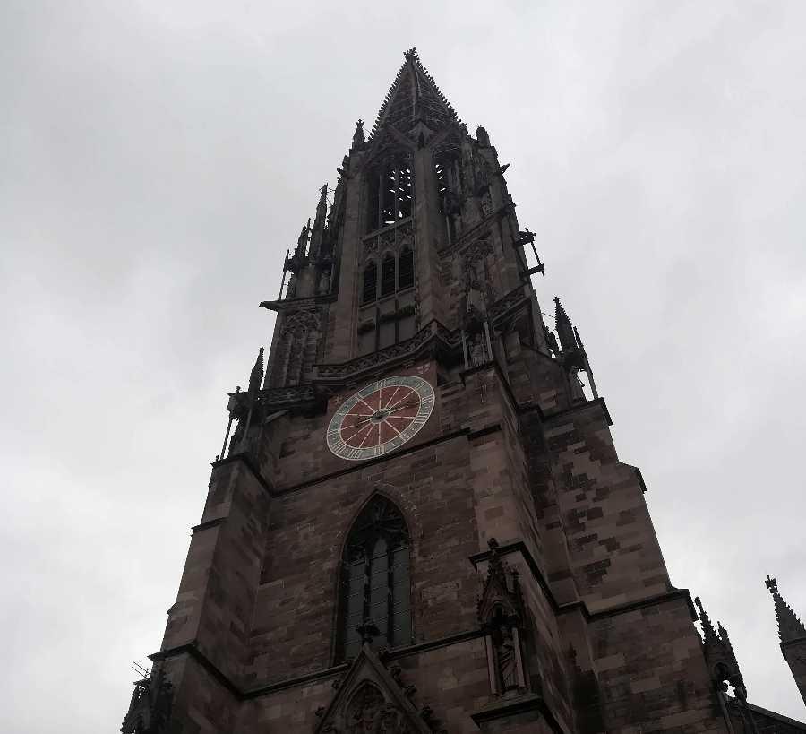Freiburger Münster in Freiburg im Breisgau