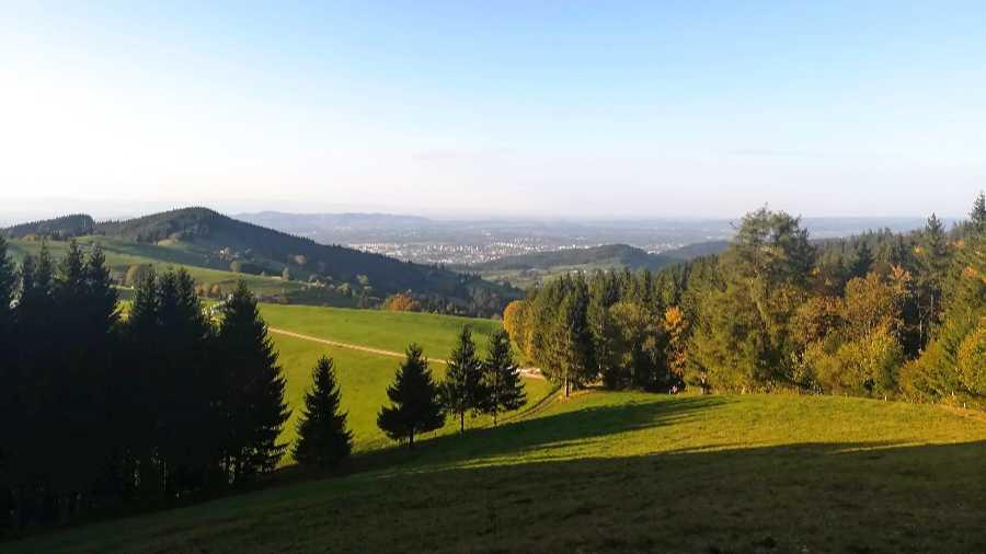 Ausflugsziel Schauinsland im Schwarzwald