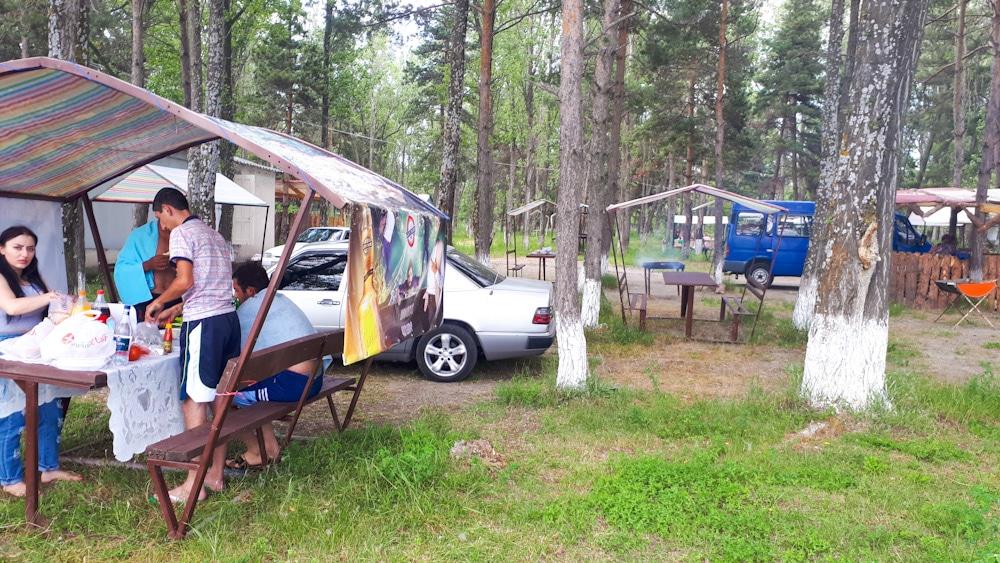 Camping am Sewansee