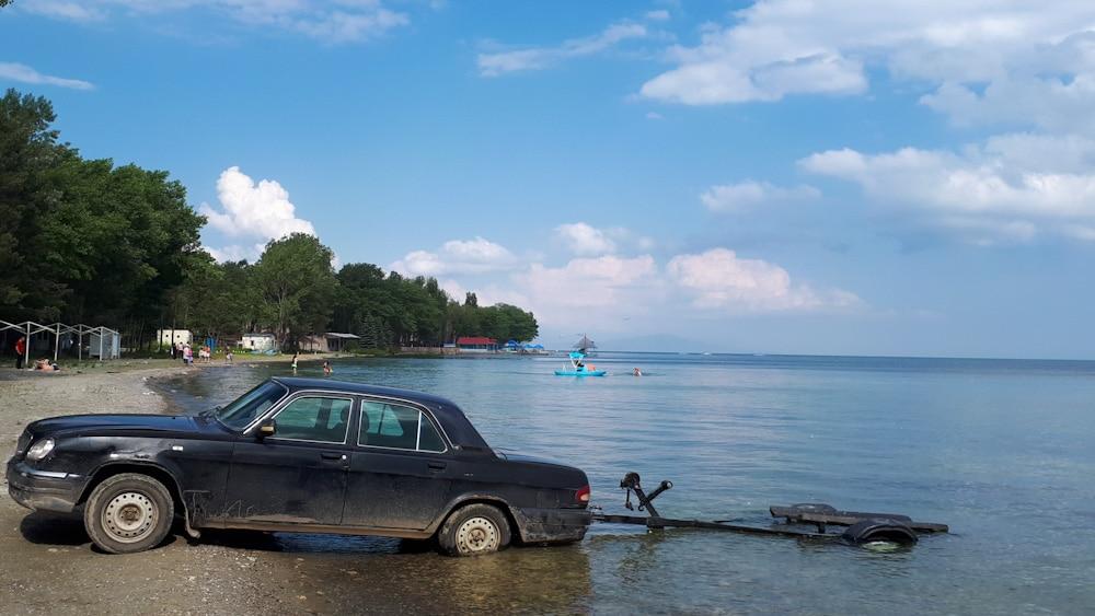 Wassersport am Sewansee