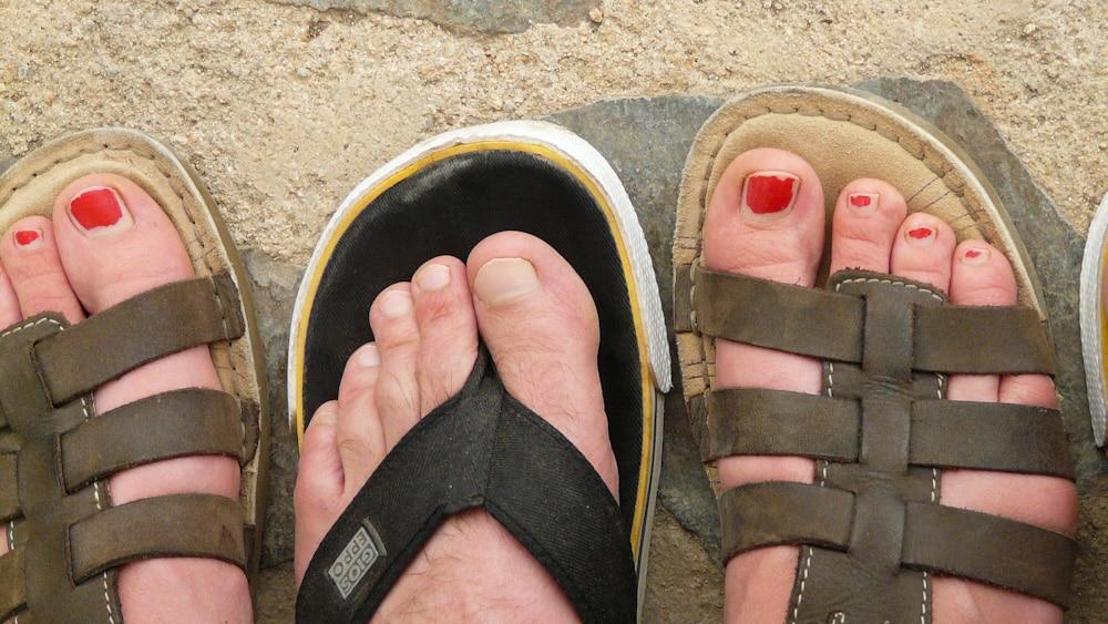 Barfuß Sandalen: gesünder als Flip Flops