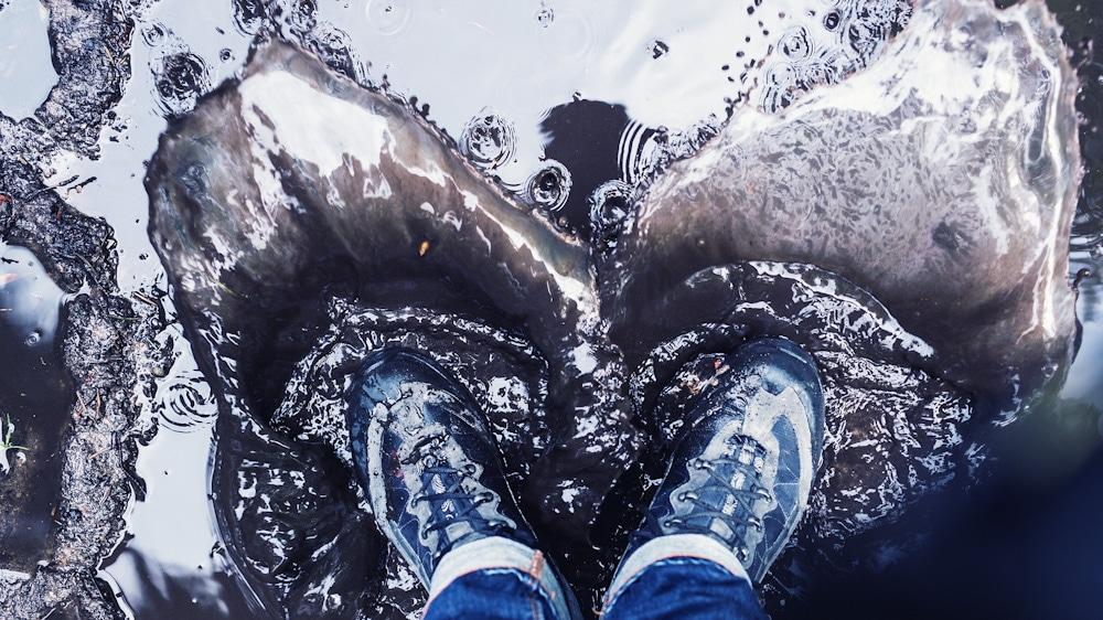 Wasserdichte Barfußschuhe: für trockene Füße
