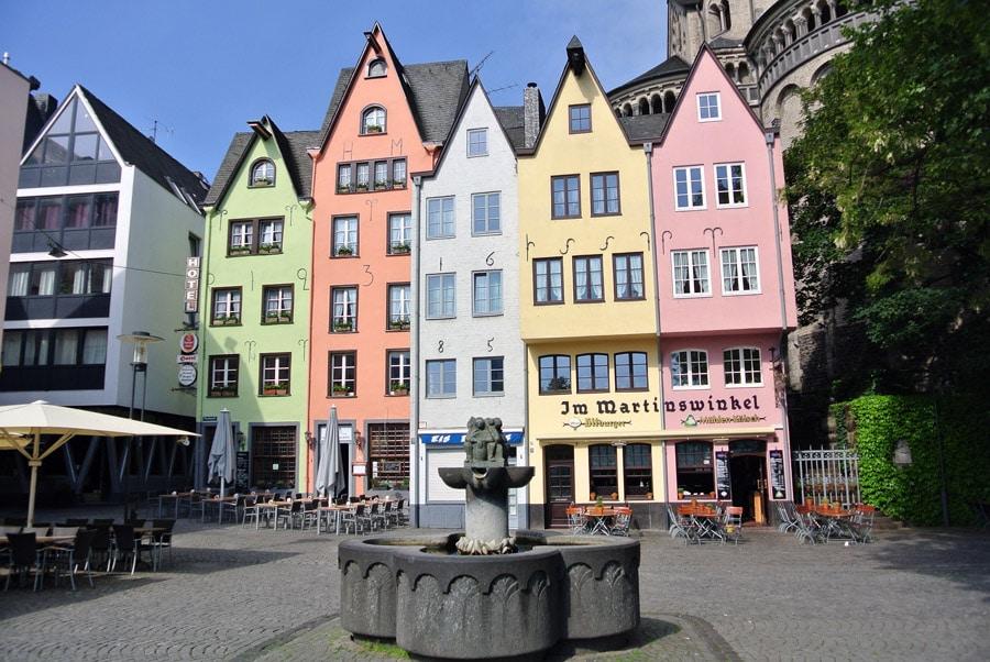 Sehenswürdigkeiten in Köln, Kölner Altstadt