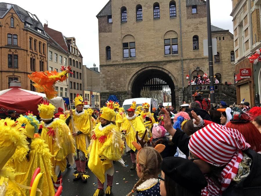 Karneval Köln, Umzug Südstadt