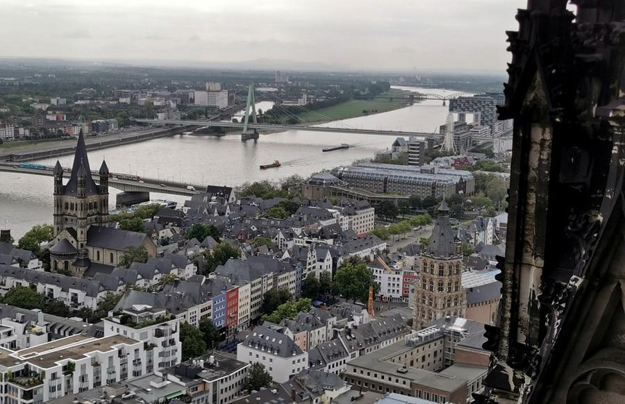 Kölner Dom, Aussicht Turm