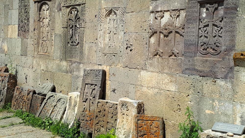 Steinornamente am Tatev Kloster