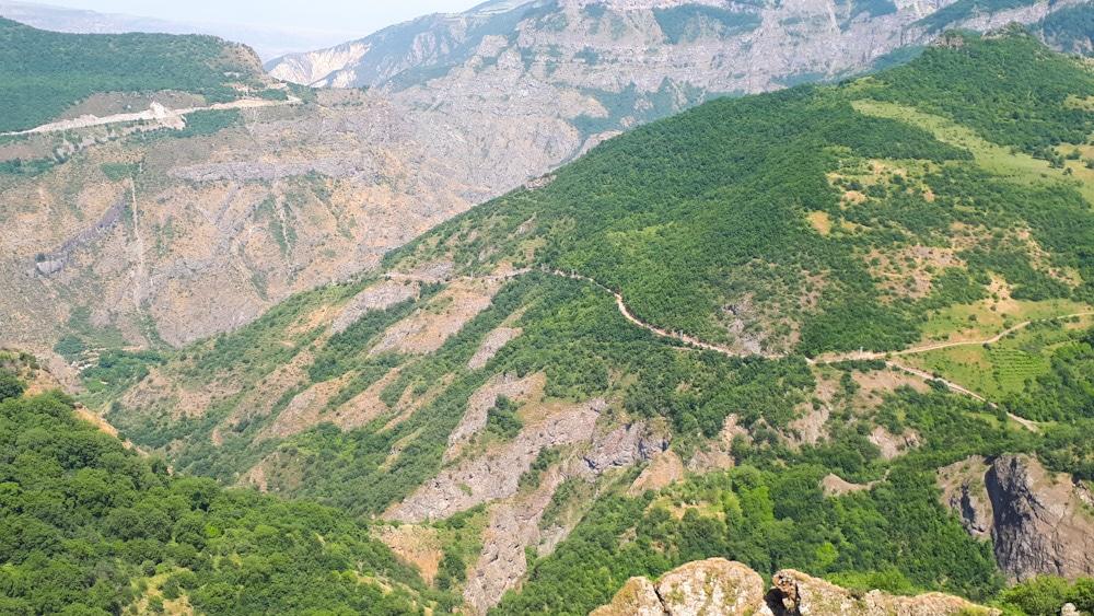 Aussichtspunkt auf dem Weg nach Tatev