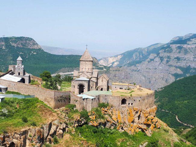 Blick auf das Kloster in Tatev