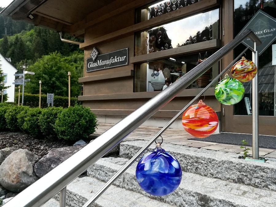Glasbläserei und Kunsthandwerk