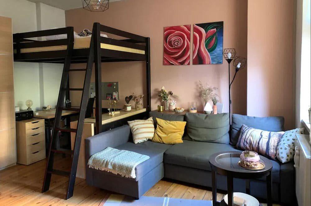 Gemütliches Airbnb in Berlin mit Hochbett