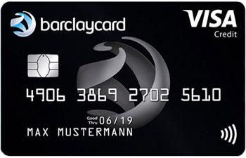 Barclaycard Reisekreditkarte