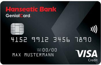 Hanseatic Bank Reisekreditkarte